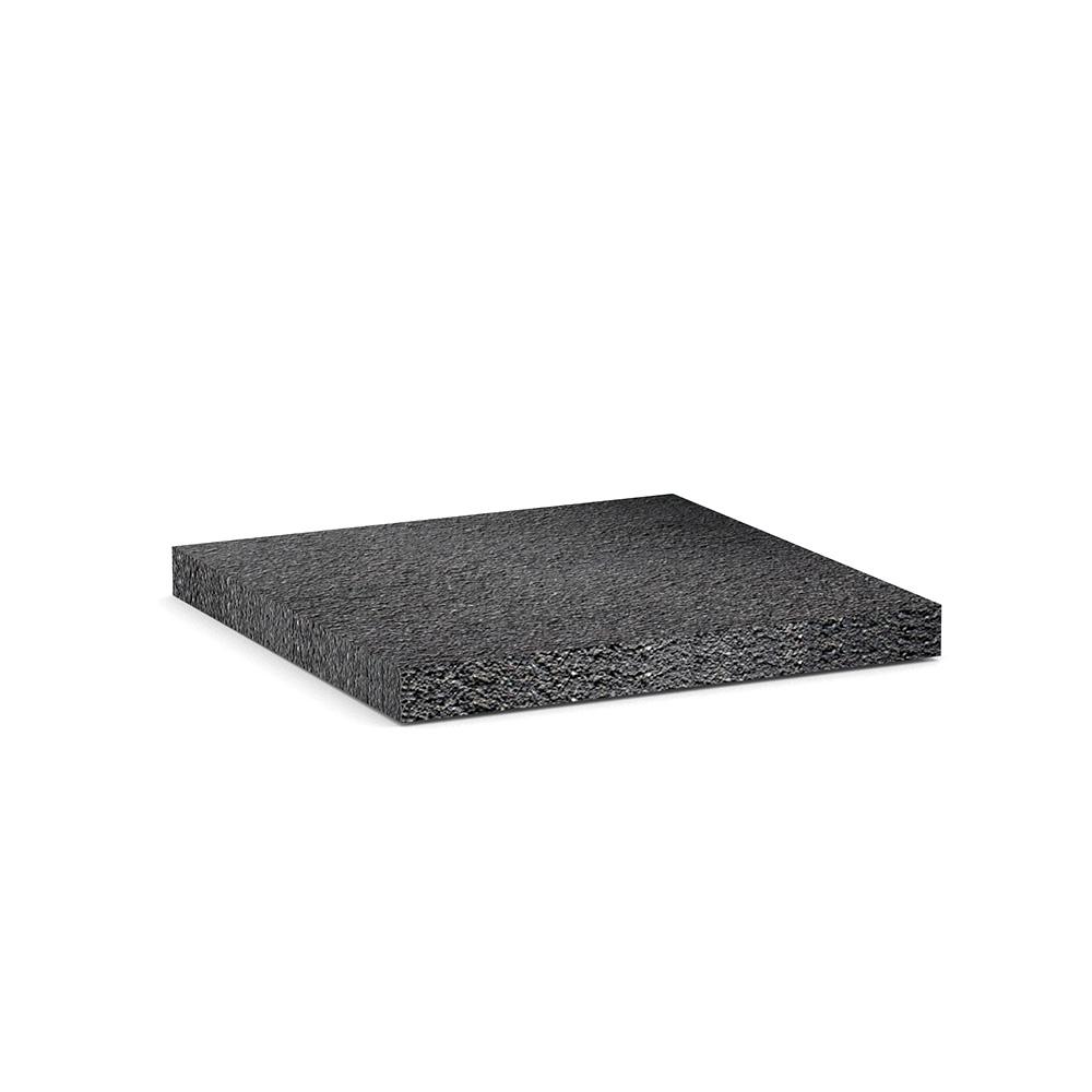 Резиновая плитка черная